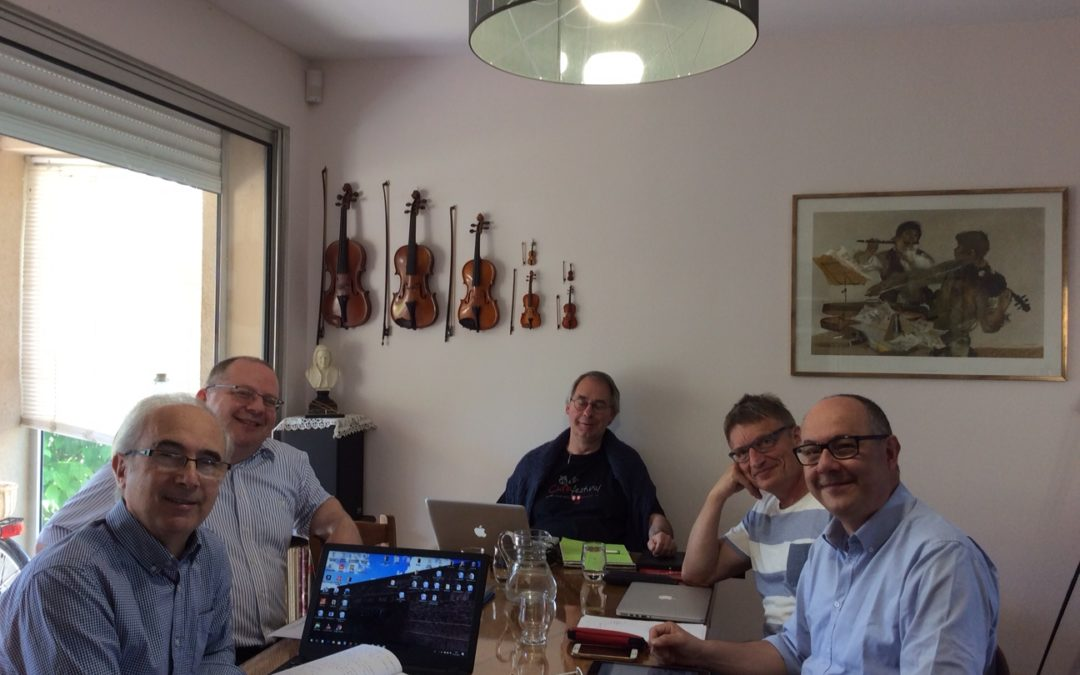 Meeting of the Bureau in Béziers