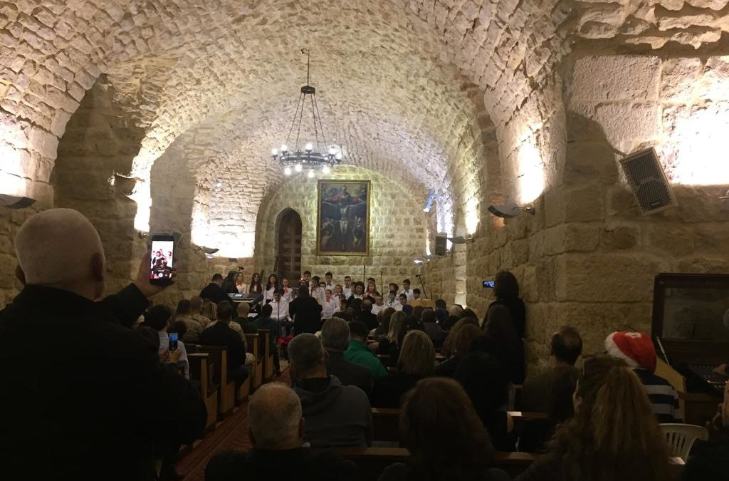 Concert of choirs in Lebanon